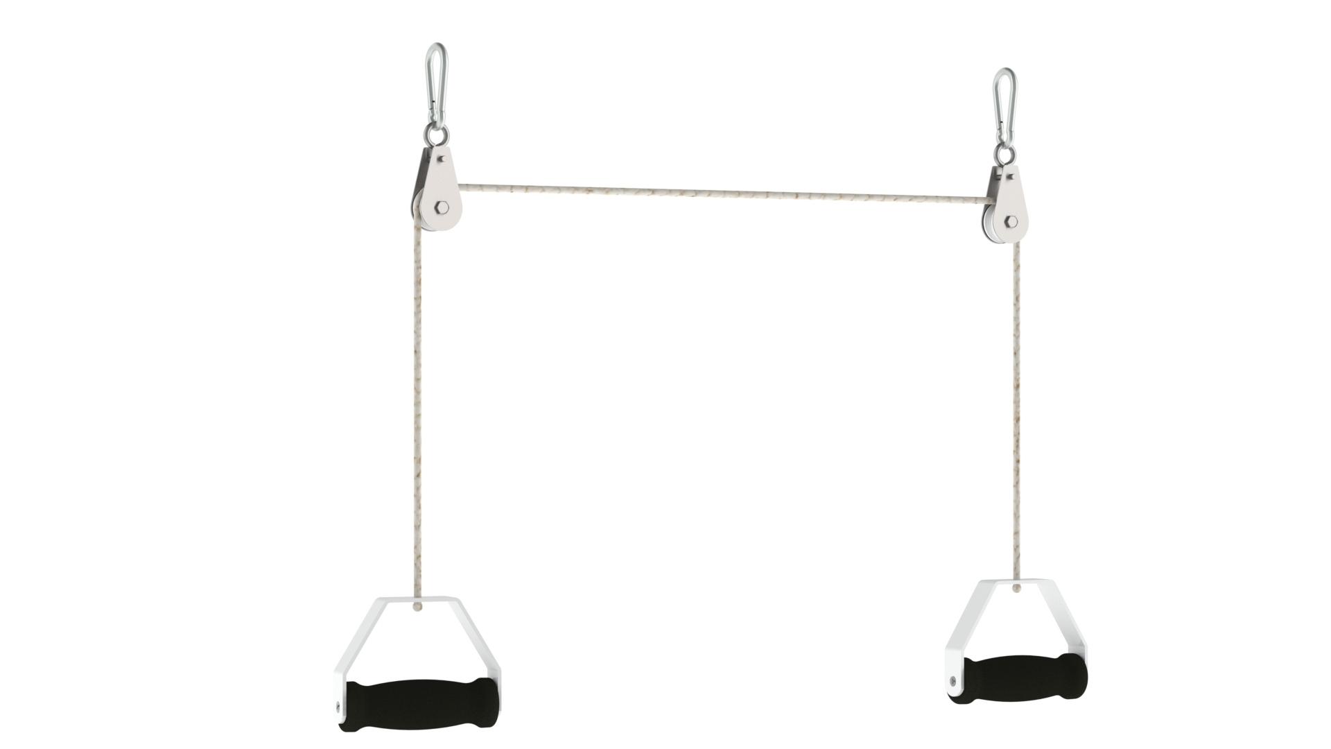 PAFIDV003_Sistema de roldanas com 2 ganchos