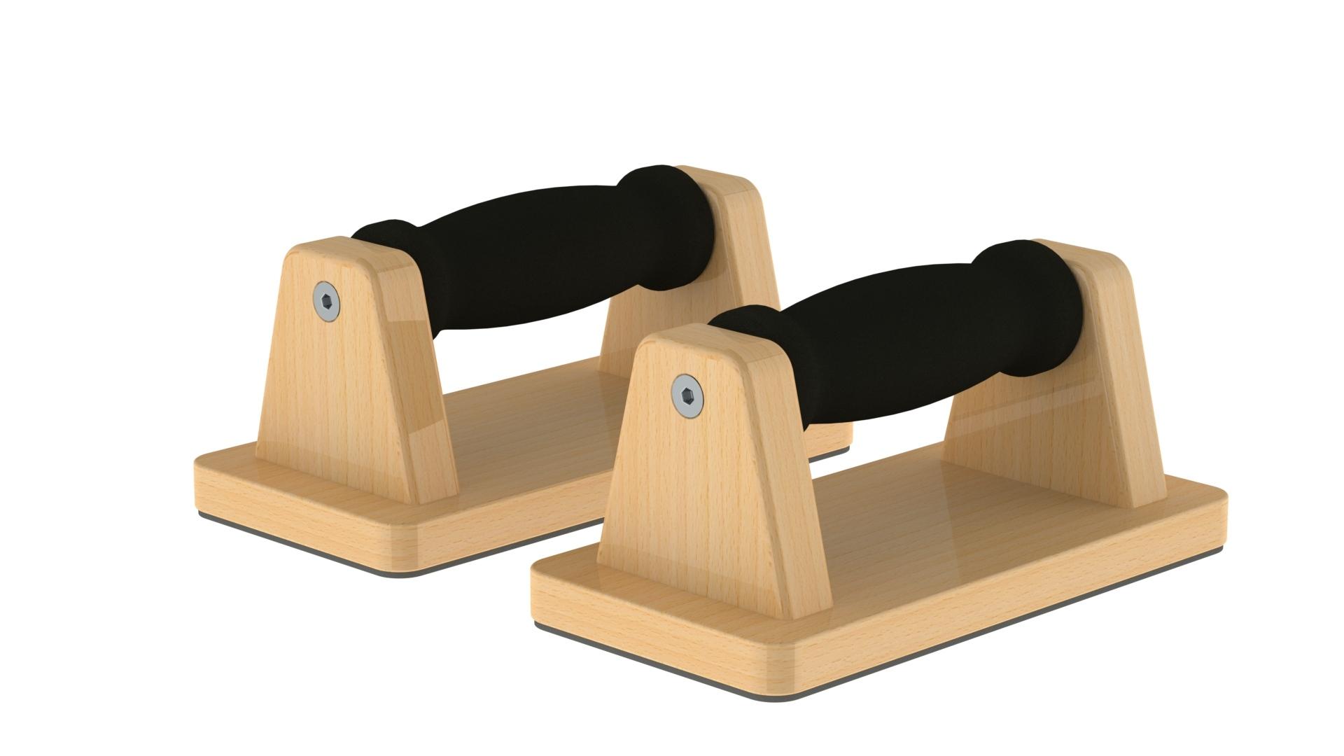 PAFIMD004_Conjunto de push-ups em madeira